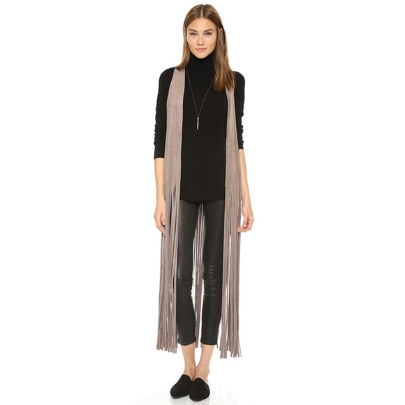 f220819e6 BB Dakota Jackets & Blazers - BB Dakota Ripley Fringe Vest